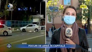 Stirile Kanal D (23.10.) - Hotii de catalizatoare au fost prinsi cu focuri de arma! Editie de pranz