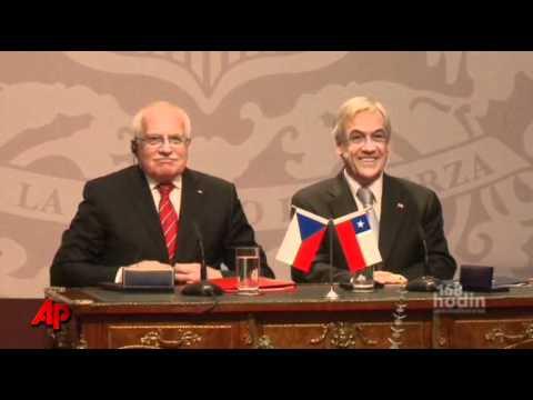 Czech Leader's Pen Grab Goes Viral on YouTube