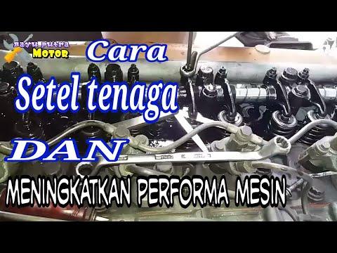 CARA MUDAH SETEL TENAGA DAN KEHALUSAN MESIN FUSO NENEK MOYANG CANTER TURBO 125 PS#Bayu Putra Motor