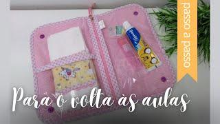 Necessaire de Higiene Bucal – By Fê Atelier ( Nível Fácil )