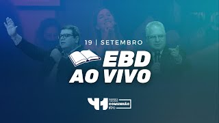 Advertências de Cristo em tempos de confusão | EBD 19/09/2021