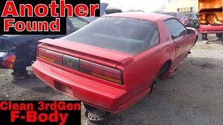 1991 Pontiac Firebird Junk yard Find