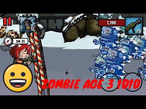 ZOMBIE AGE 3 RED WOMAN DEFEND WALL ALONE | Android Gameplay Video Part 1010 by Youngand Runnerup