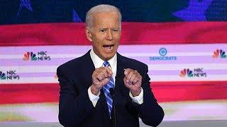 Joe Biden takes the heat in Democrats debate