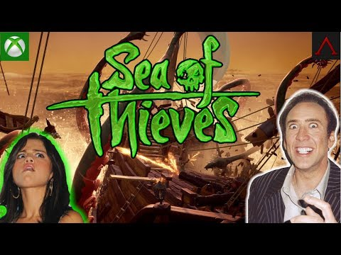 Sea Of Thieves XBOX | 🏴 Skull Forts, PVP, and Merchant voyages. Xbox Live Stream Gameplay.