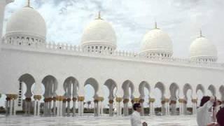ABU DHABI - Grande Mesquita de ZAYED - EAU - Patio interior