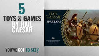 Top 10 Hail Caesar Toys & Games [2018]: Pack Of 40 Spartan Miniatures