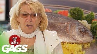 Flopping Fish on Dish | Throwback Thursday