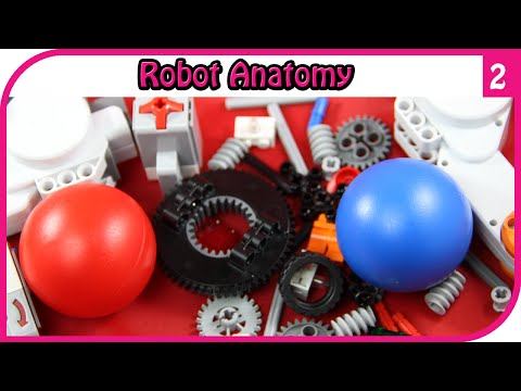 Robot Anatomy - Overview of Robot and Course | Lego Robotics Ep 2