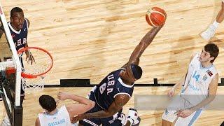 Uruguay vs USA 2007 FIBA Americas Basketball Championship Quarter Final Round FULL GAME English