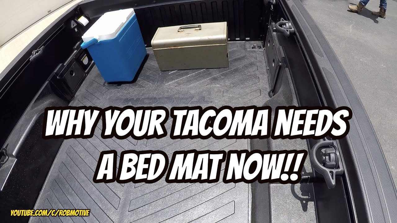 why your tacoma needs a bed mat now youtube why your tacoma needs a bed mat now