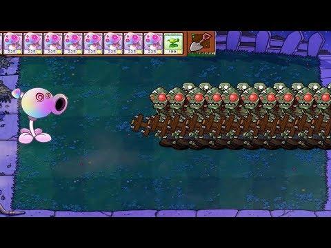 Plants vs Zombies Hack - Hypno-shroom vs Gargantuar PvZ
