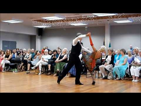 Washington State Senior Games Dance Competition 7-7-18 – Waltz in Honor of Darlene Forbes