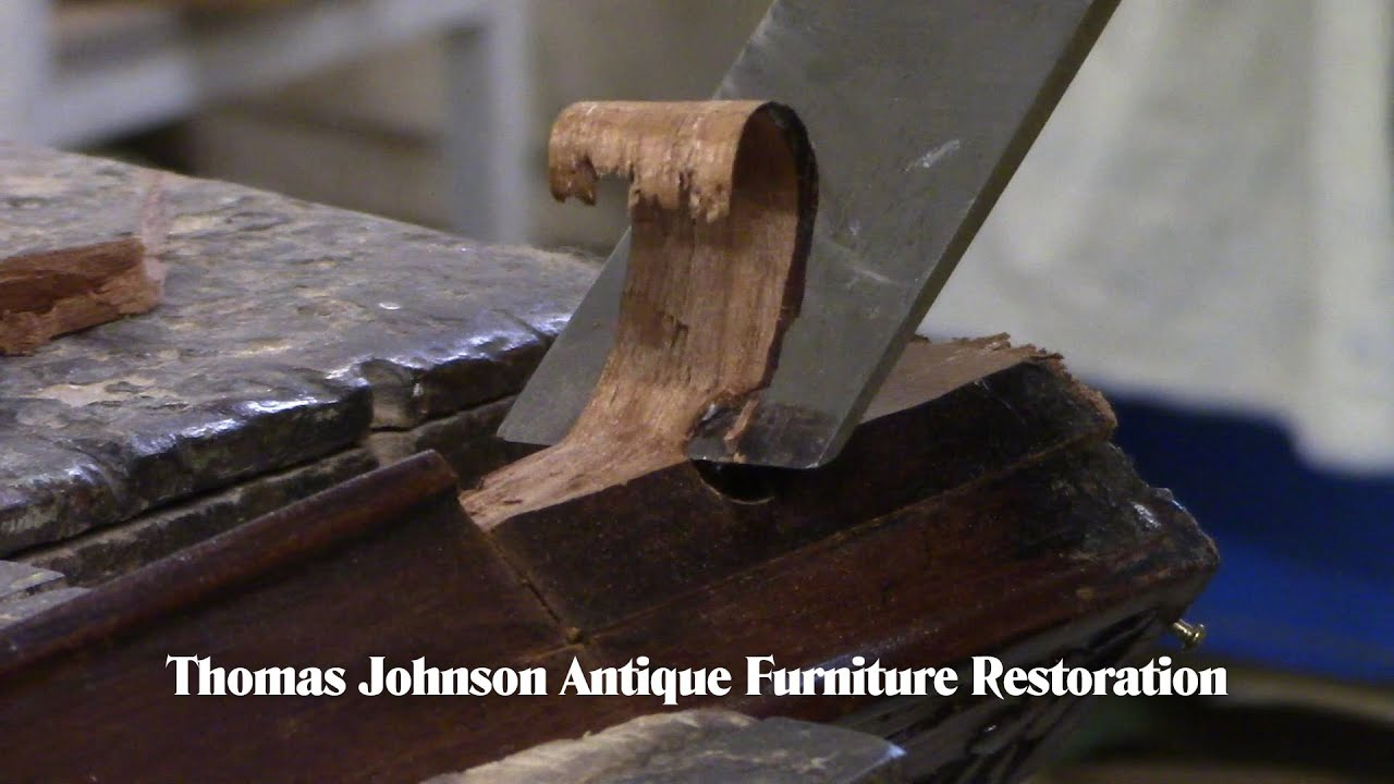 Repairing the Leg of a Federal Side Chair - Thomas Johnson Antique Furniture Restoration