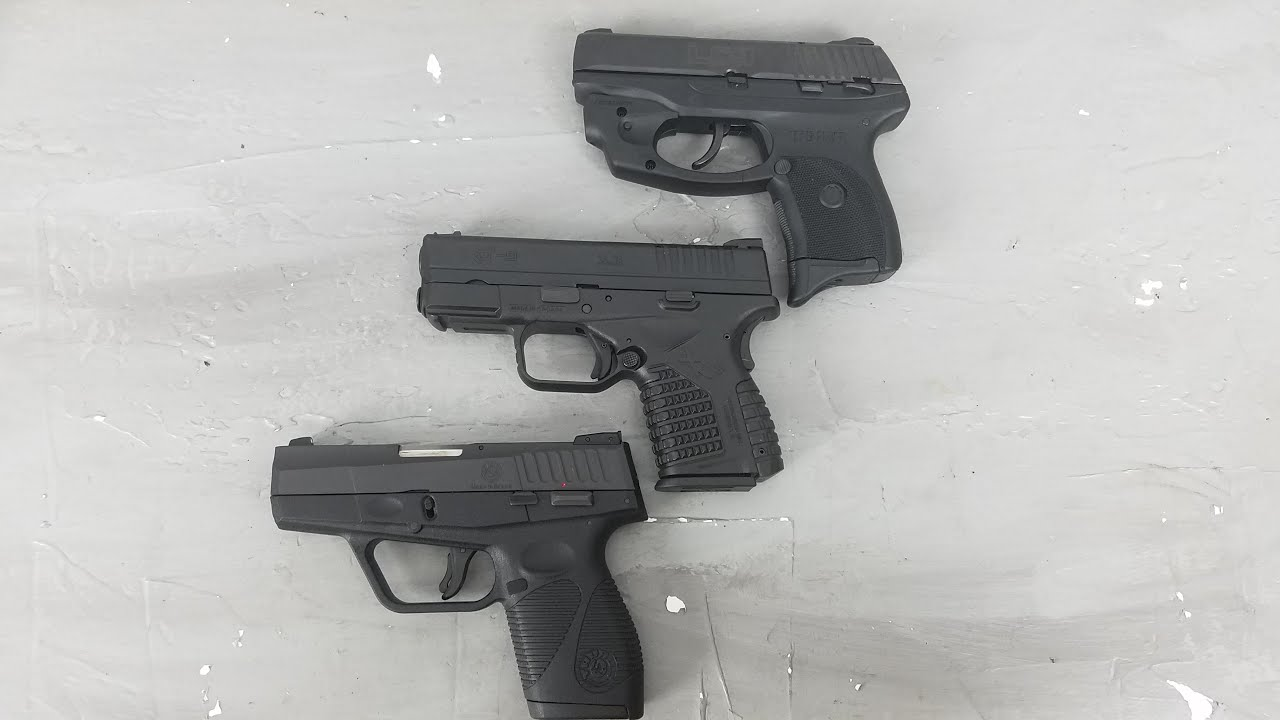 709 slim 9mm pistol - Top 3 Ccw Pistols Under 400 Or Are They Ruger Lc9 Springfield Xds Taurus 709 Slim