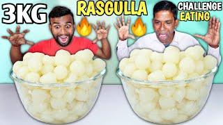 Epic 3 KG RASGULLA EATING CHALLENGE / Gulab Jamun Eating Challenge / Food Competition