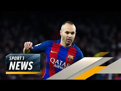 Andres Iniesta vom FC Barcelona zu Pep Guardiola auf die Insel? | SPORT1 - Der Tag
