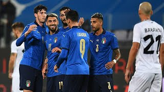 Highlights: Italia-Estonia 4-0 (11 novembre 2020)