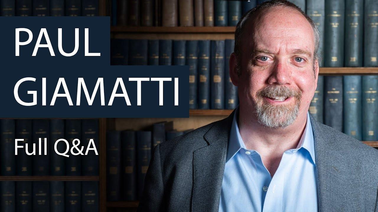 Download Paul Giamatti   Full Q&A   Oxford Union