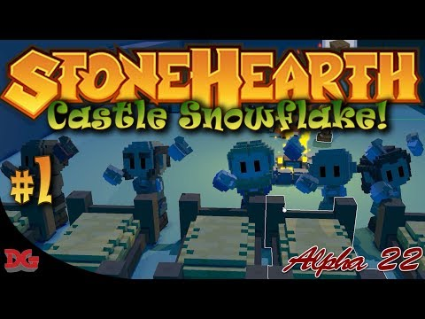 StoneHearth (Alpha 22) - Episode 1 ► The Founding of Castle Snowflake! (1440@60)