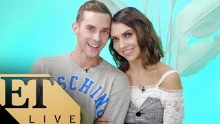 ET LIVE with Adam Rippon & Jenna Johnson