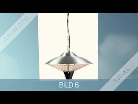 infrarot heizstrahler terrasse youtube. Black Bedroom Furniture Sets. Home Design Ideas