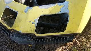 Doug's 1976 C3 Corvette Project Part 2: Headlight & Front Bumper Fix