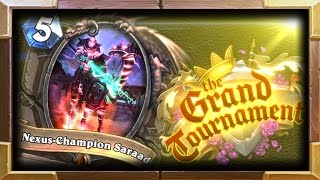 Nexus-Champion Saraad Moments ( Hearthstone Grand Tournament Expansion Announcement)