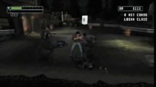 X-Men Origins: Wolverine Wii Battles Gameplay [HD]