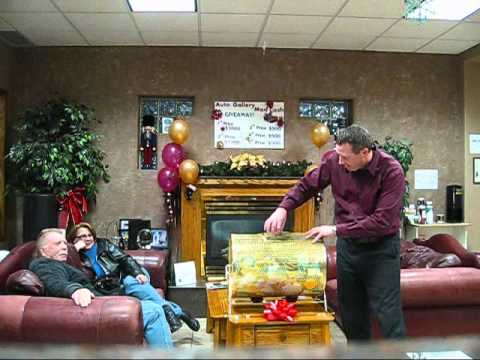 Auto Gallery of Winnipeg's Holiday Mad Cash Giveaway Ballot Draw!