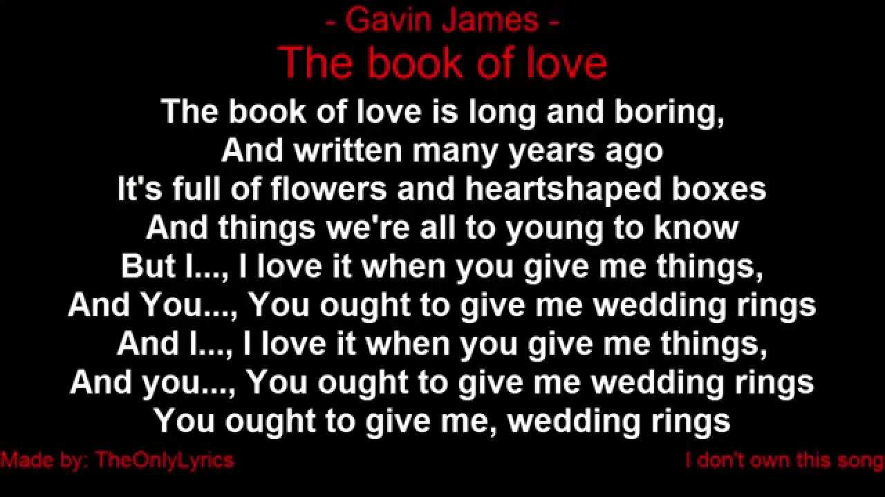 The Book Of Love Song