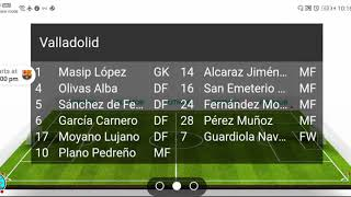 Barcelona vs real valladolid la liga live this match will be played at spain and start 11th july 2020. valladoli...
