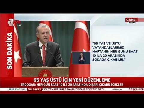 Başkan Erdoğan açıkladı: 18 yaş altı sokağa çıkma kısıtlaması kaldırıldı!