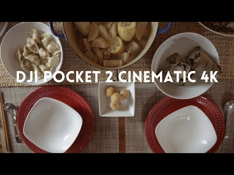 DJI Pocket 2 Cinematic 4K | Chefs Table Inspired Lunar New Year Feast