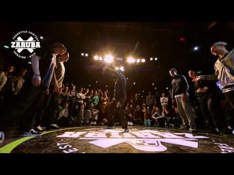 Hip-hop 3vs3 1/2F Bat Gang Crew vs Mind...