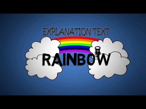 Explanation Text : How Rainbow Is Happen ??
