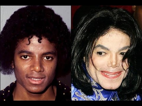 mj face reverse transformation michael jackson past