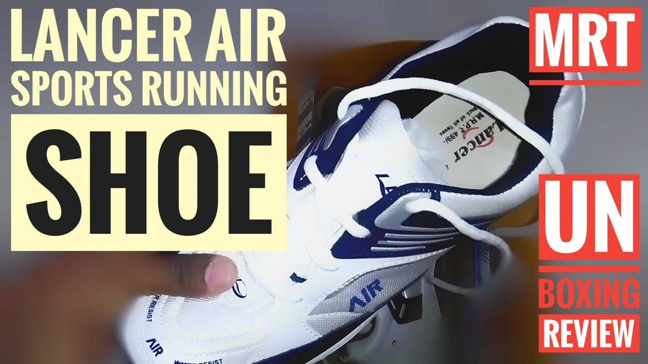 bc32bc594a0 SPORTS RUNNING SHOE LANCER REVIEW - YouTube