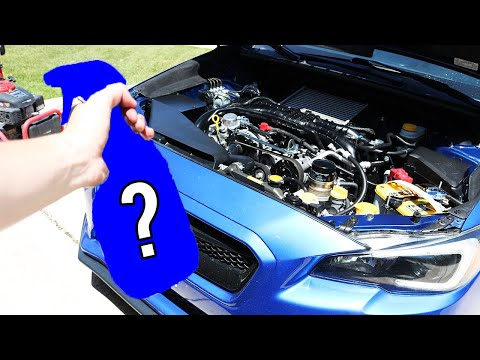 Cheapest AND Easiest Way To Clean Your Engine Bay!
