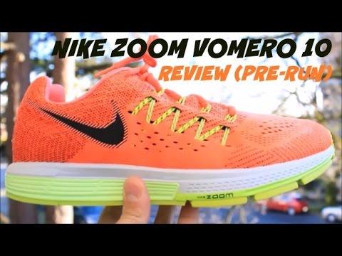 Nike Zoom Vomero 10 Review (Pre-Run)