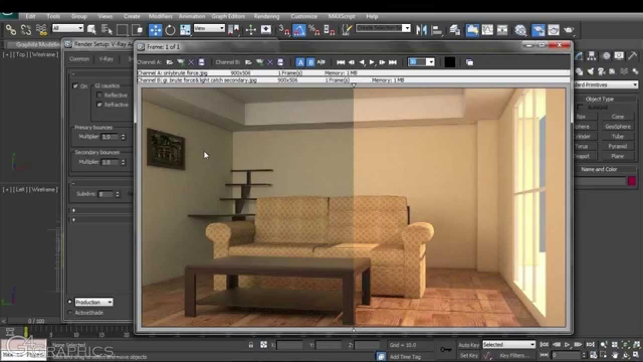V Ray For 3ds Max Tutorial Series 03 03 Global