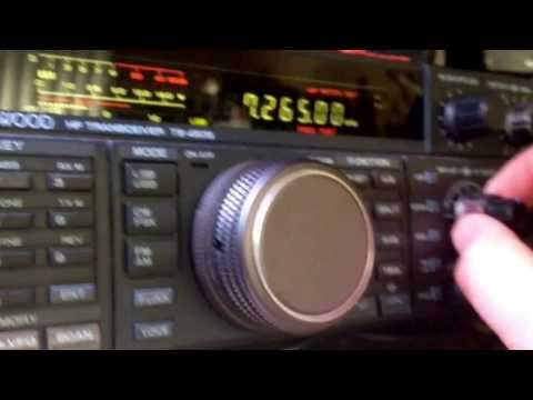 40 Meters on a Kenwood TS-450S HF Transceiver