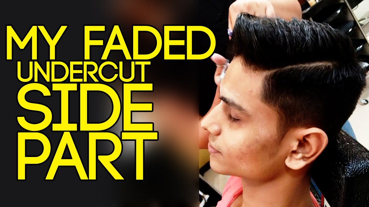 Faded UNDERCUT with SIDE PART | HAIRSTYLE + Hairstyle