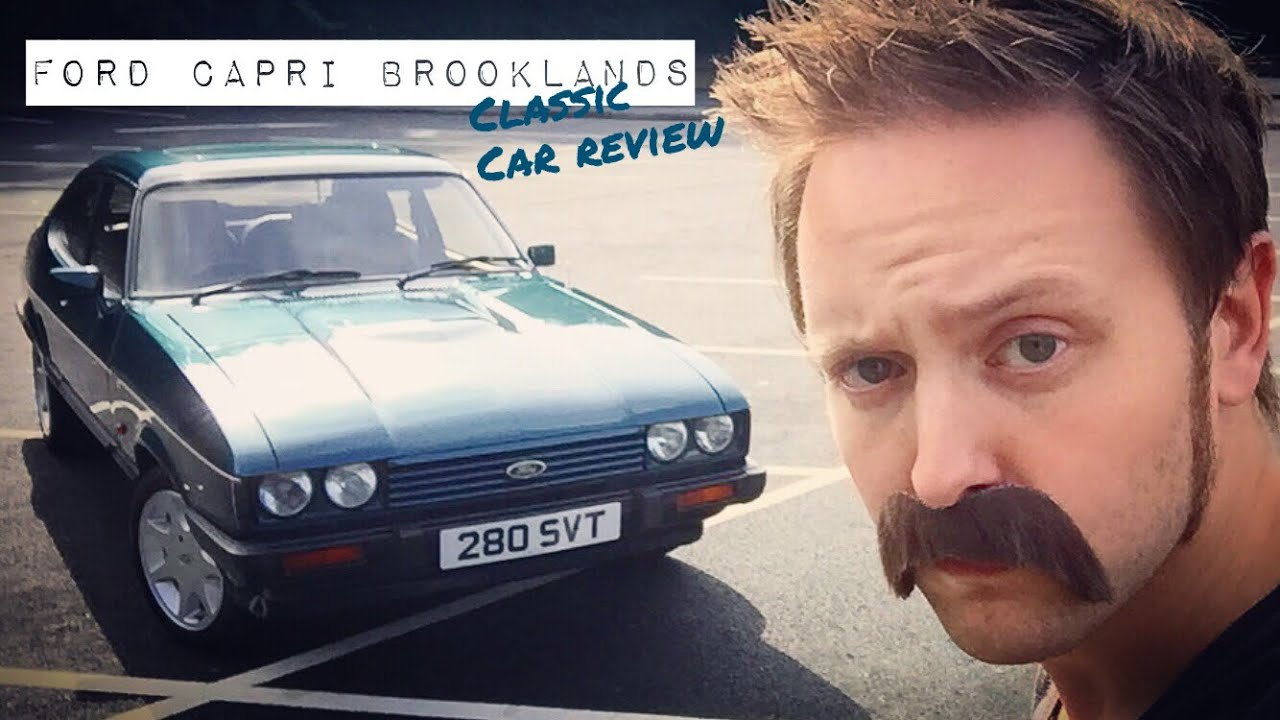Drift Cars For Sale >> Ford Capri 280 Brooklands car review - YouTube