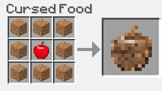 Cursed food that Minecraft deleted...
