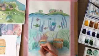 Рисую иллюстрации для книги. Часть 6