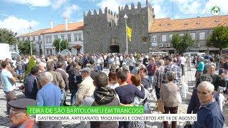 Feira de São Bartolomeu em Trancoso até 18 de agosto