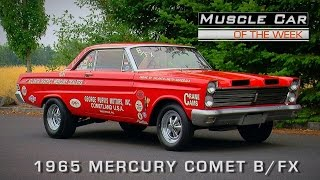 Muscle Car Of The Week Video Episode #120: 1965 Mercury Comet B/FX