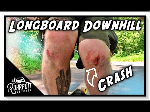 Longboard Downhill & Crash - Ruhrpott Outdoor