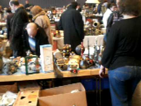 Antique and Flea market  Zurich-Uster Switzerland.